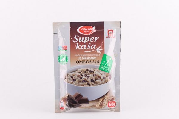 Super kaša sa konopljom i čokoladom Vitalon Food 60g