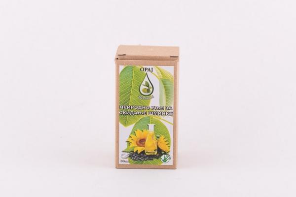 Prirodno ulje za skidanje šminke