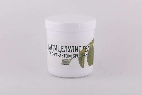 Anticelulit gel sa ekstraktom bršljena