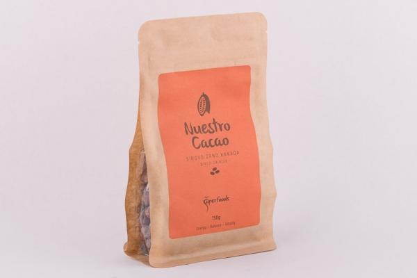Nuestro cacao sirovo zrno 150g