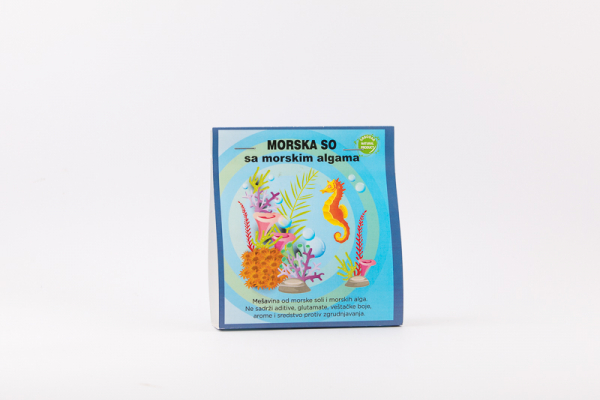 Morska so sa morskim algama 150g
