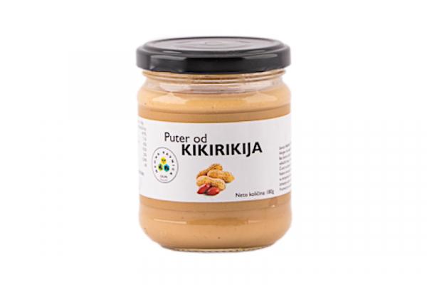 Kikiriki puter 180g Medna ravnica