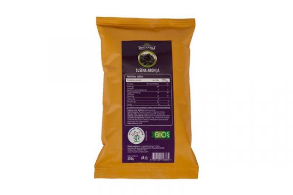Sušena aronija 100g Organica