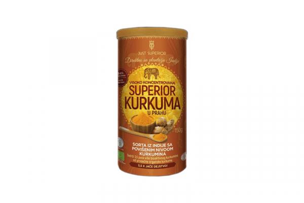 Kurkuma u prahu 150g Just Superior