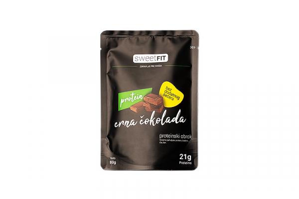 Sweet fit proteinski obrok sa crnom čokoladom 80g