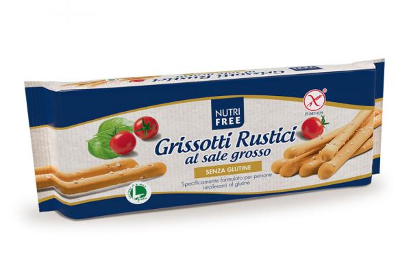 Slano pecivo bez glutena - Grissotti Rustici al sale grosso 100g