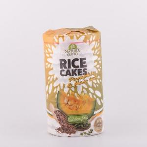 Rice cakes - bundeva i lan