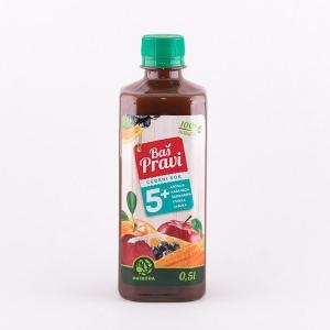 BAŠ PRAVI ceđeni sok koktel 0.5l