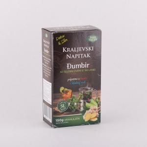 Kraljevski napitak đumbir sa zelenim čajem iz Šri Lanke