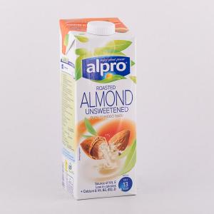 Alpro almond unsweetened 1l