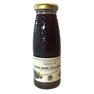 Sok od aronije, kupine i divlje borovnice 0.2l Marella