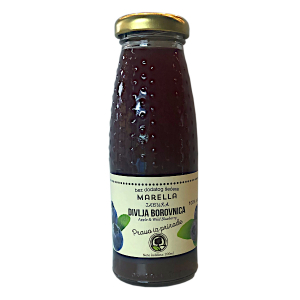 Sok od jabuke i divlje borovnice 0.2l Marella
