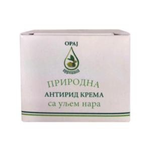 Prirodna antirid krema sa uljem nara 15ml