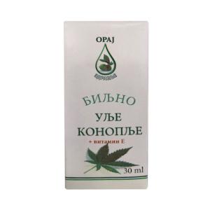 Biljno ulje konoplje i vitamin E 30ml