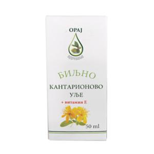 Biljno kantarionovo ulje i vitamin E 50ml