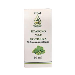 Etarsko ulje bosiljka 10ml