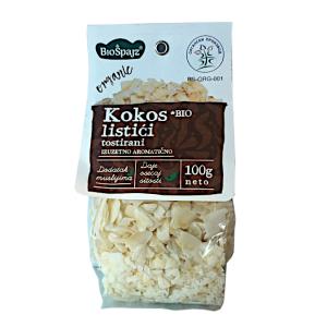 Kokos listići tostirani 100g