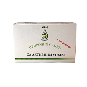 Prirodni sapun sa aktivnim ugljem Oraj