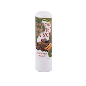 Prirodni melem za usne čokolada cimet