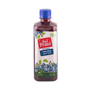 BAŠ PRAVI prirodni sok trnjina nectar 0.5l