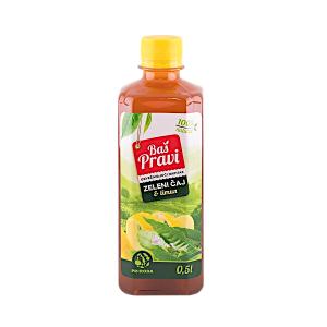 BAŠ PRAVI osvežavajući napitak zeleni čaj i limun 0.5l
