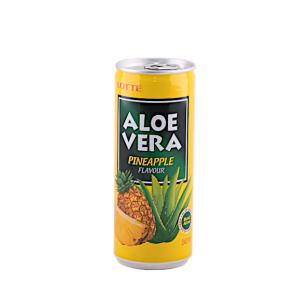 LOTTE Aloe vera pineapple juice 240ml