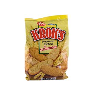 Kroks - prepečeni hlepčići sa susamom