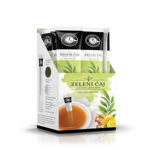 Tea stick zeleni čaj sa đumbirom i aromom limuna  1.75g