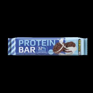 Proteinska pločica sa kakao prelivom, keksom  i zaslađivačem 30g