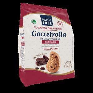 Masni biskvit bez glutena - Goccefrola con gocce di cioccolato 400g