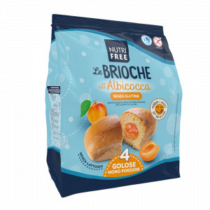 Pecivo sa punjenjem od kajsije, bez glutena - Le brioche all albicocca 200g