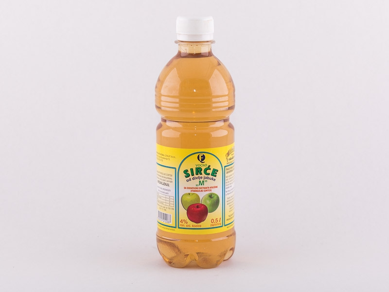 Sirće od divlje jabuke M 0,5l Ekofarm