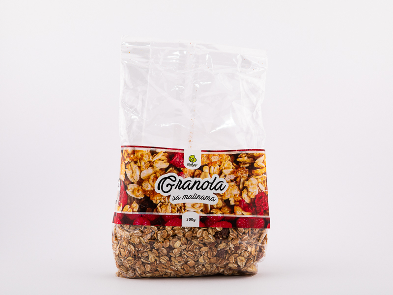 Granola sa malinama 300g