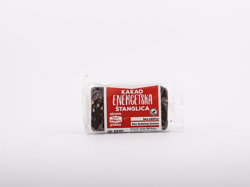 Kakao energetska štanglica 40g