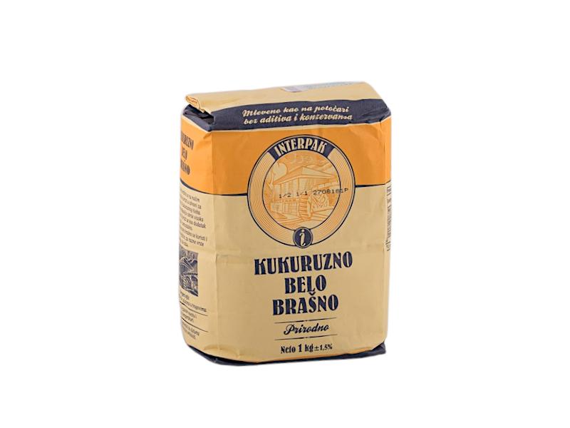 Kukuruzno belo brašno Interpak 1kg