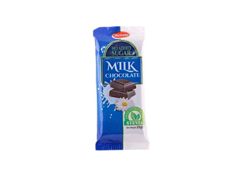 Mlečna čokolada sa steviom