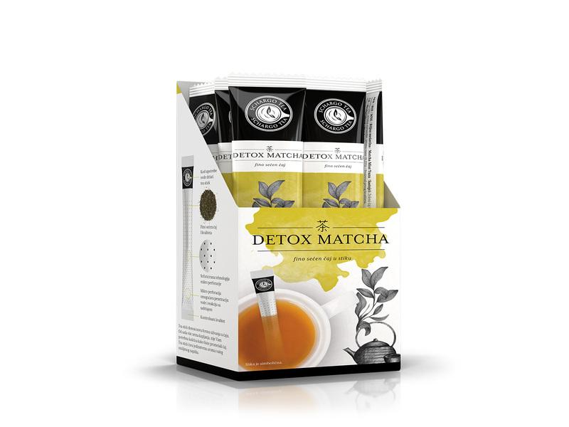 Tea stick detox matcha 2g