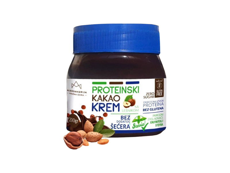 Proteinski kakao krem bez glutena 250g